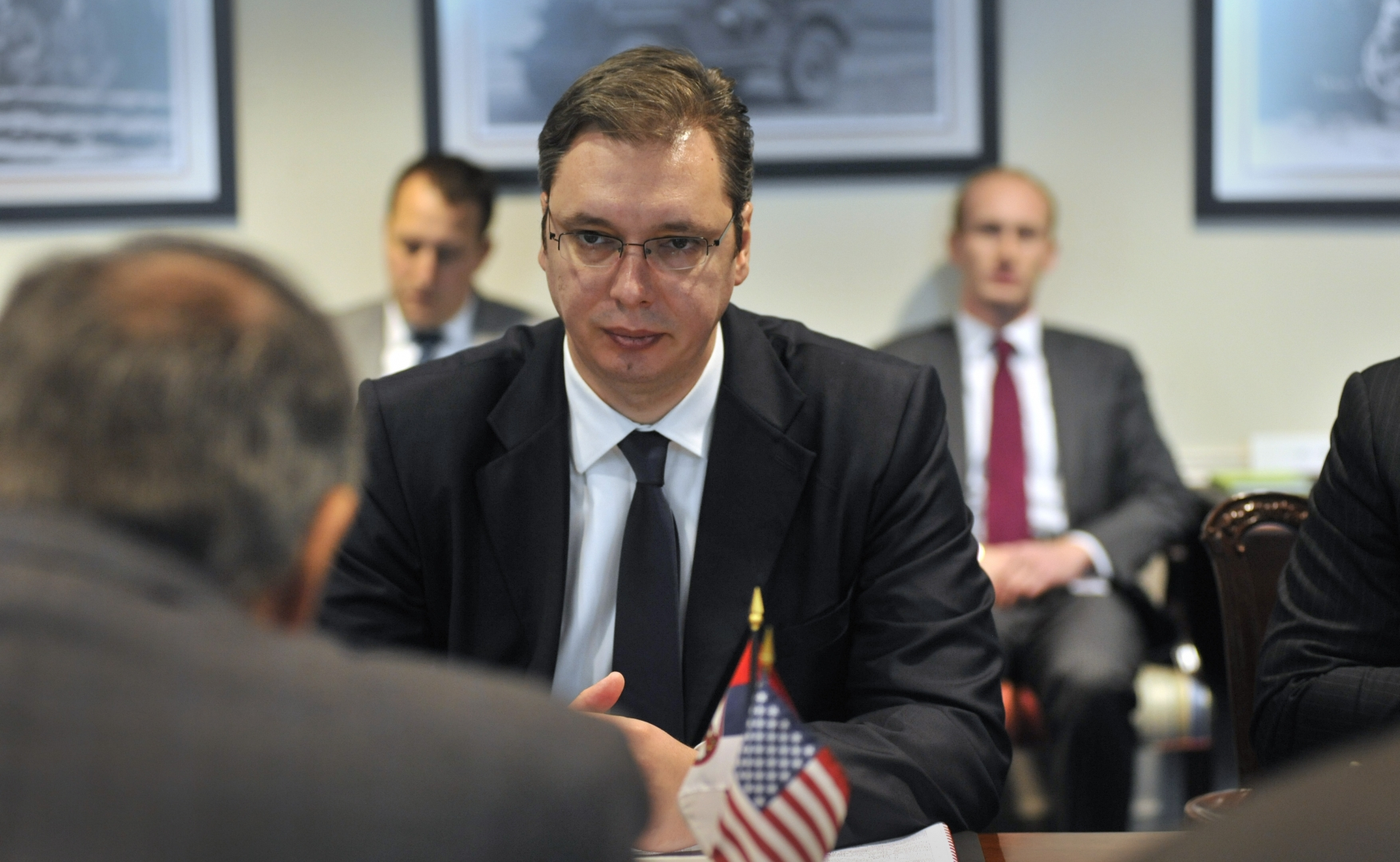 Александр Вучич. Пентагон