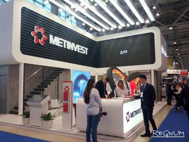 Стенд «Метинвест» оказался в числе наиболее крупных на выставке и самым большим среди украинских производителей
