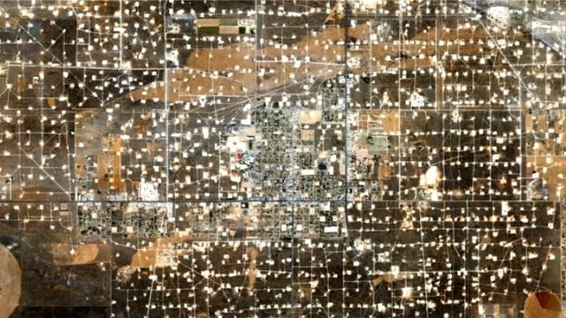 Сланцевое нефтегазовое месторождение Уоссон, США