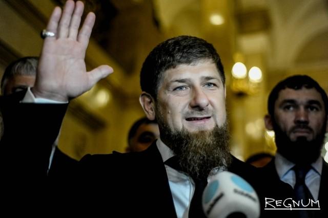 Кадыров обсудил совместные проекты с наследным принцем ОАЭ