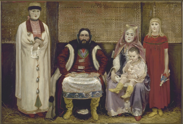Андрей Рябушкин. Семья купца в XVII веке. 1896