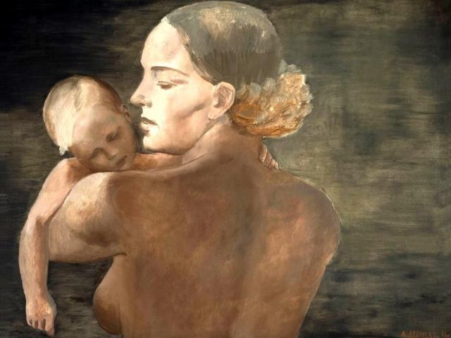 Александр Дейнека. Мать. 1932