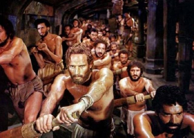 Рабы на галере