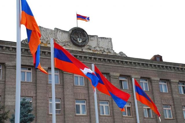 Здание Национального Собрания Нагорно-Карабахской Республики