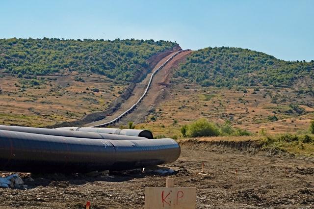 Есть стыковка магистральных газопроводов TAP и TANAP