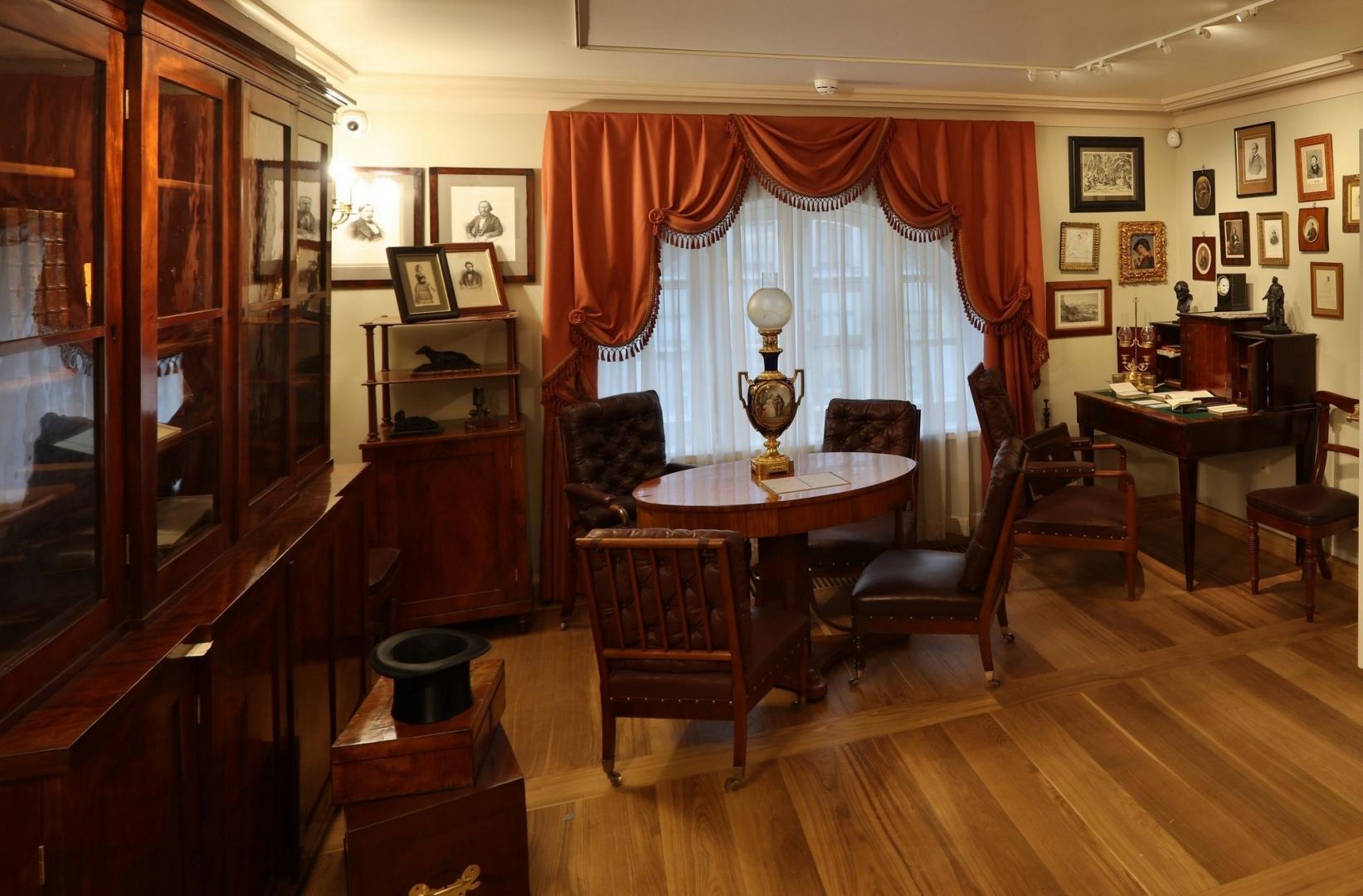 Дом музей тургенева фото