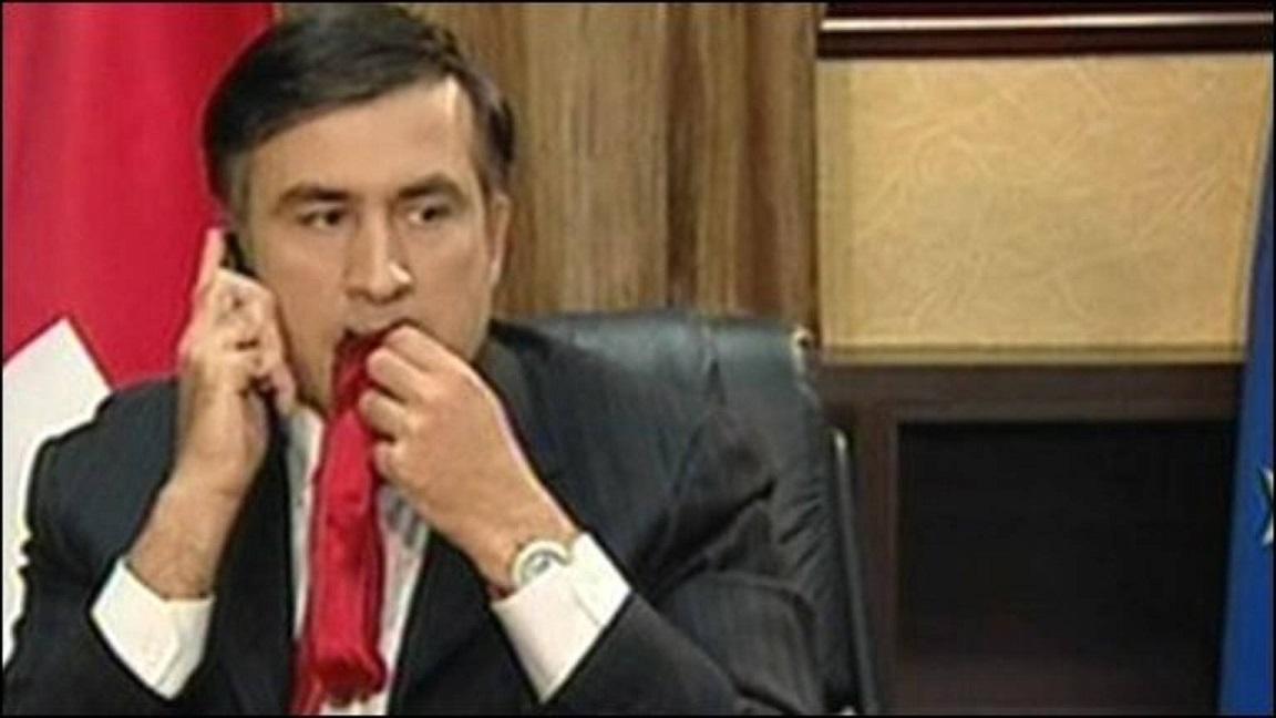 растут саакашвили ест галстук гифка течение пяти дней