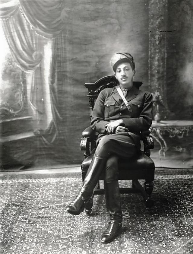 Захир Шах в 1930-х гг.