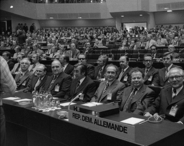 Хельсинская конференция 1975 года. Пленарное заседание