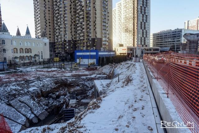Пешеходы Красногорска рискуют жизнью на стройке новой развязки