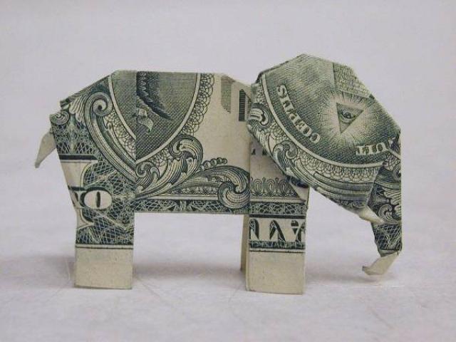 Меркантильный слон