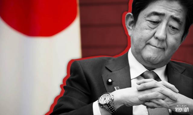 Абэ петляет в разговоре о Курильских островах