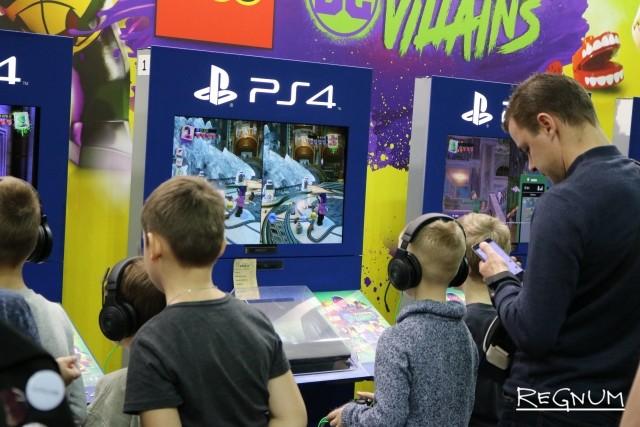 Новыми играми интересуются не только юные геймеры