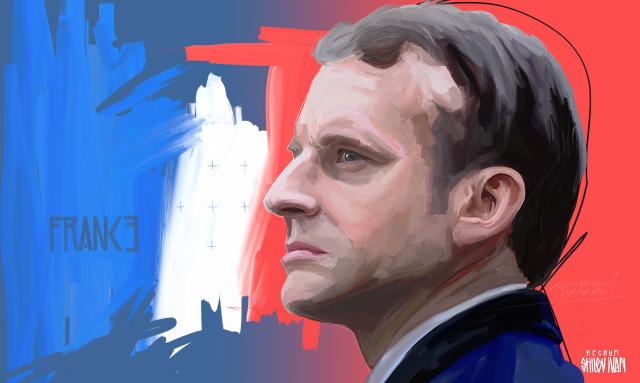 Макрон заявил, что во Франции нет места насилию