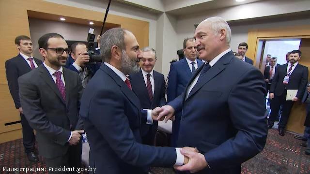 Пашинян не поедет в Минск на фоне обострившихся отношений с Белоруссией