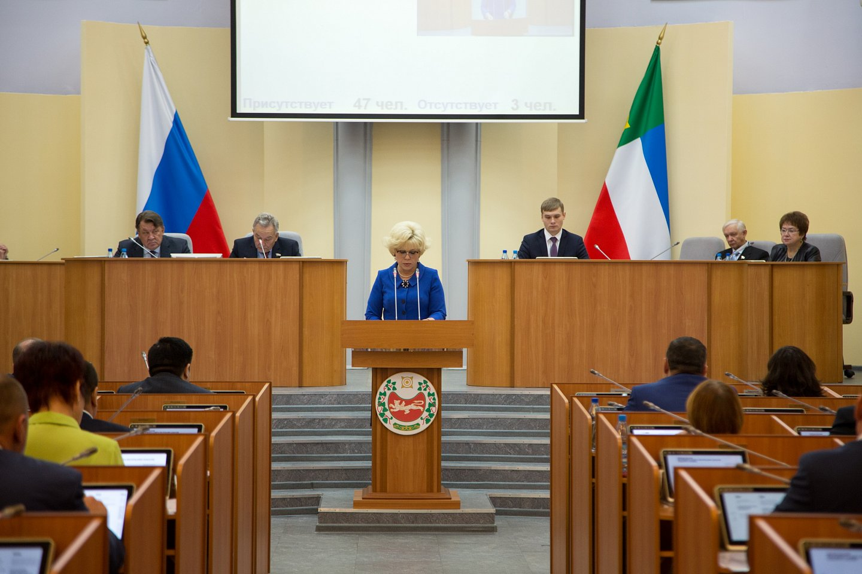 На сессии Верховного совета Хакасии