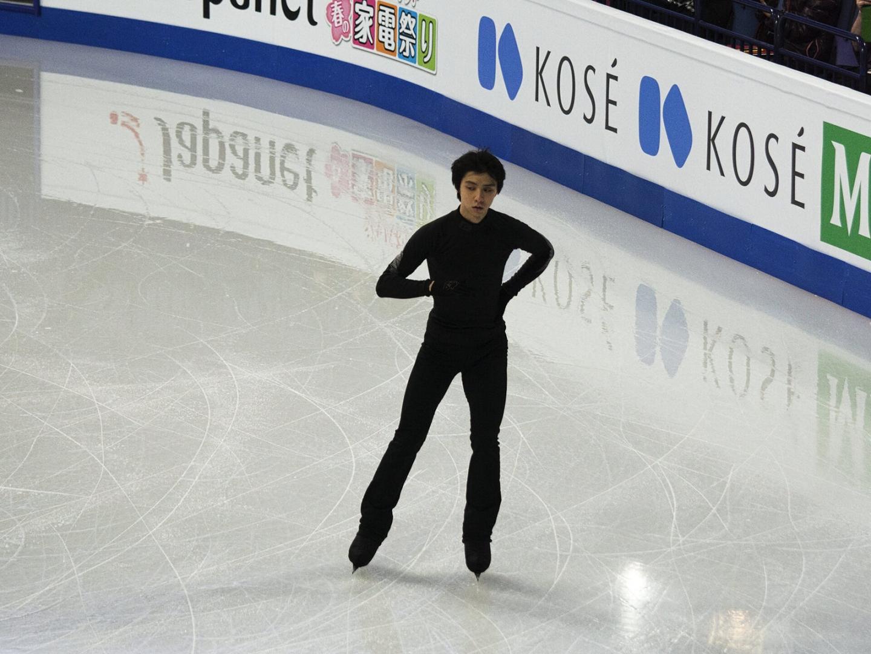 Юдзуру Ханю на льду