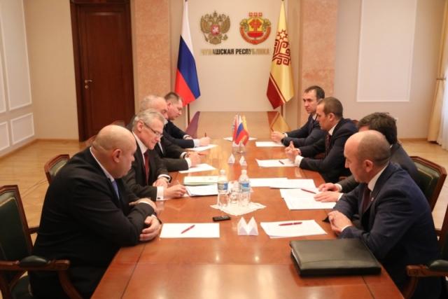 Чувашия планирует нарастить поставки продукции в Белоруссию