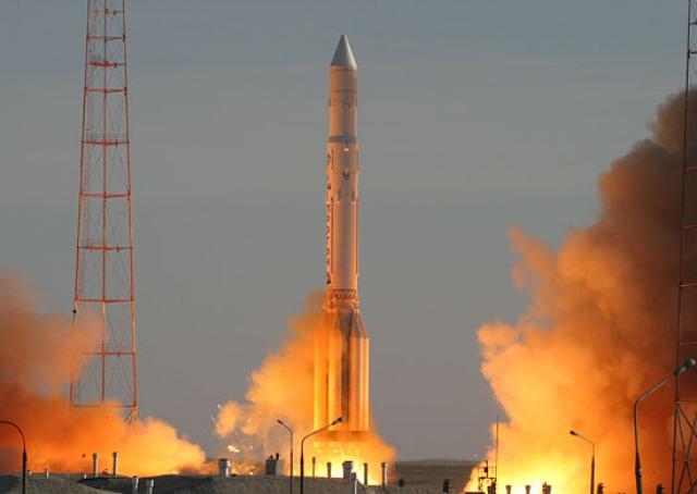 На Байконуре подготовлена система стартовых измерений для ракеты «Протон-М»