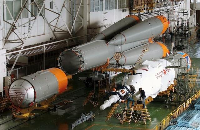 Российская космическая ракета