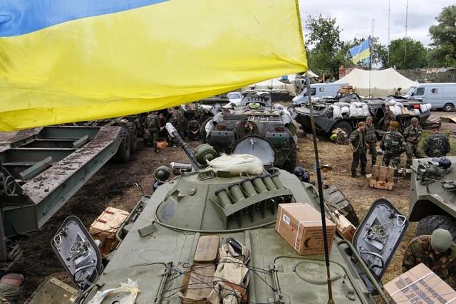 Война на Донбасе ВО «Свобода»