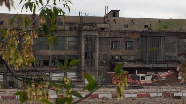 Руины завода «ЗИЛ»