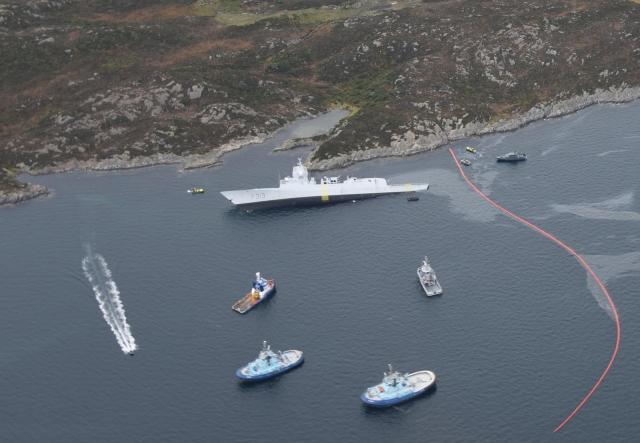 Норвегия нашла виновных в гибели фрегата Helge Ingstad. И это не Россия...