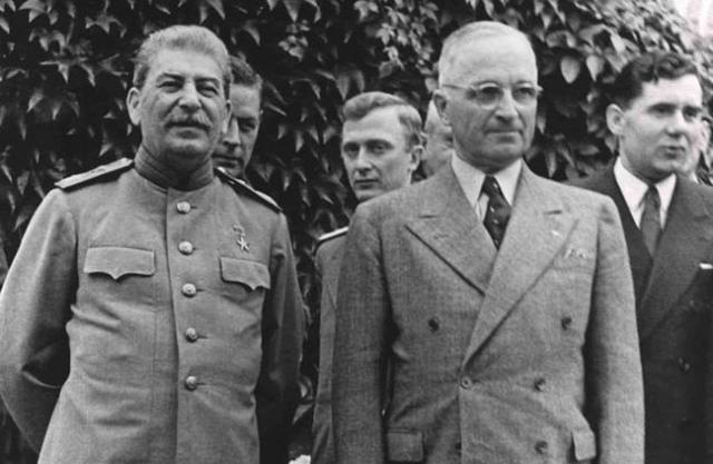 Иосиф Сталин и Гарри Трумэн