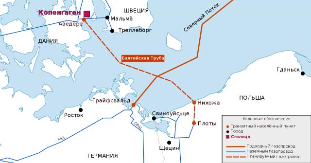Газопровод Baltic Pipe («Балтийская труба») — польская альтернатива «Северному потоку — 2»