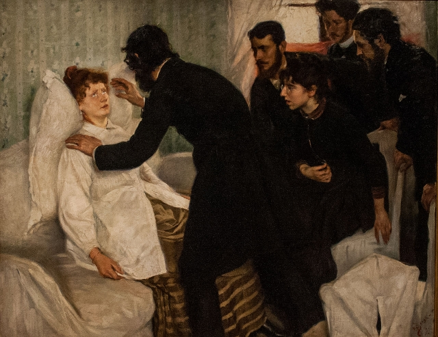 Ричард Берг. Сеанс гипноза. 1887