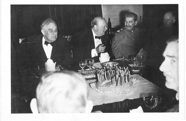Тегеранская конференция. 1943