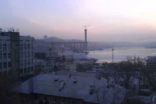 Российское судно вернулось во Владивосток после инцидента в Южной Корее