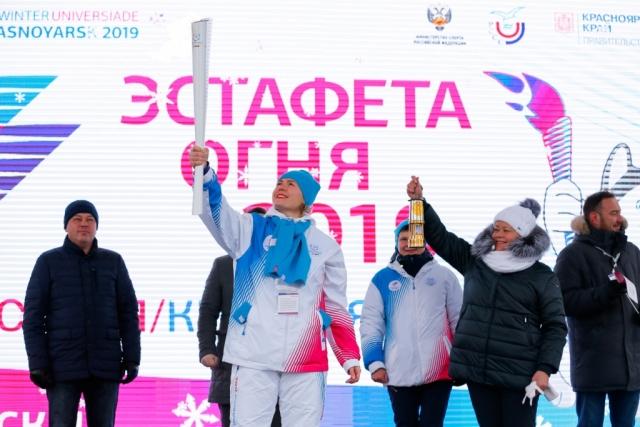 Огонь Универсиады – 2019 направляется в Барнаул