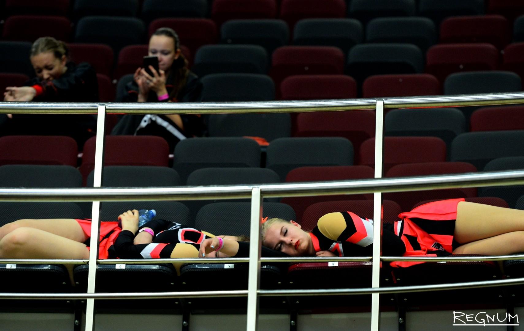 Отдых спортсменов