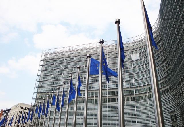 Штаб-квартира европейской комиссии в Брюсселе