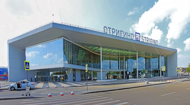 Новый терминал нижегородского аэропорта «Стригино»