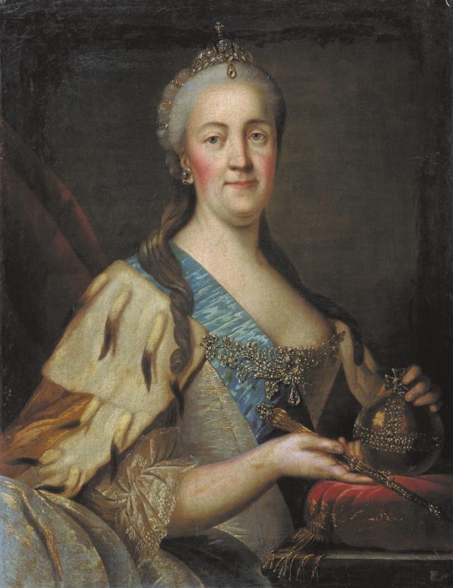 Иван Саблуков. Портрет Екатерины II. 1770