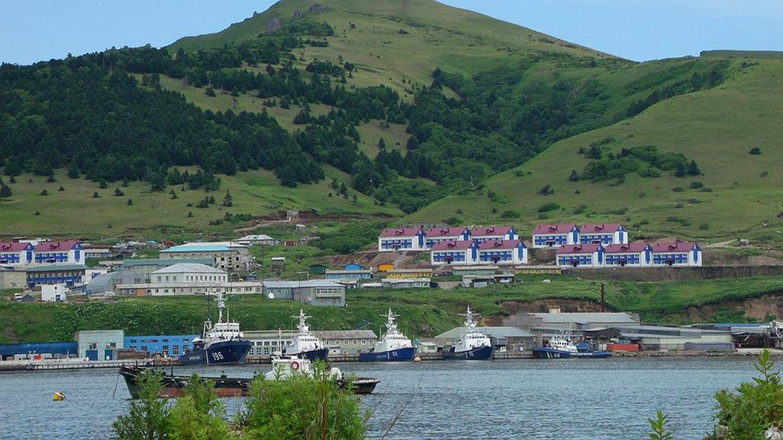 Малокурильское, o. Шикотан