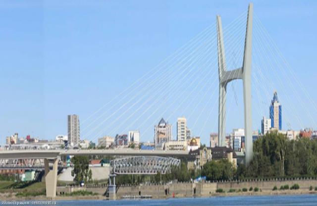 Проект четвертого моста через реку Обь в Новосибирске
