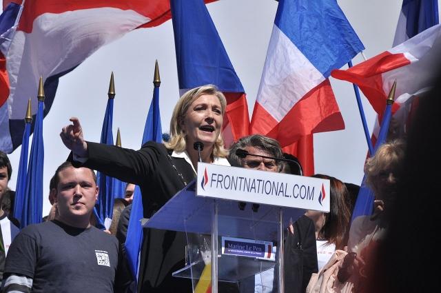 Кандидат в президенты Франции Мари Ле Пен