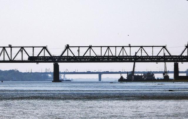 Мосты через Обь в Новосибирске