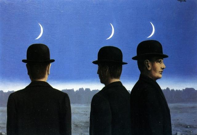 Рене Магритт. Шедевр, или тайны горизонта. 1955