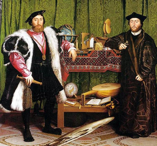 Ганс Гольбейн Младший. Послы.1533
