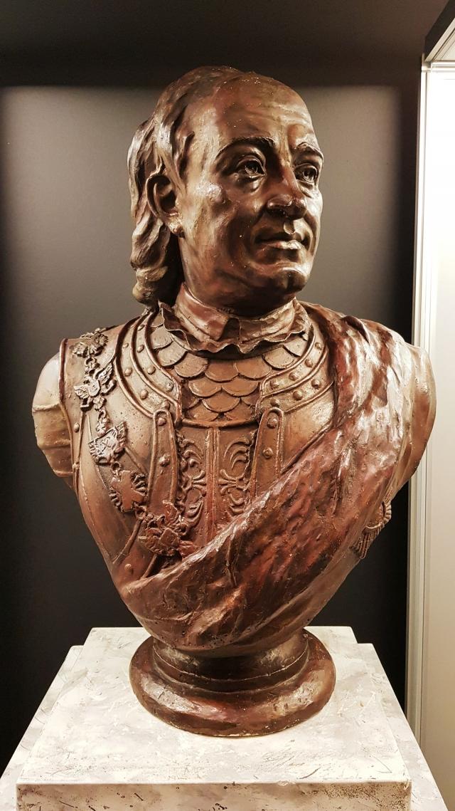 Генерал-адмирал Ф.М.Апраксин, двинской воевода с 1693 года и президент Адмиралтейств-коллегии с 1718 года