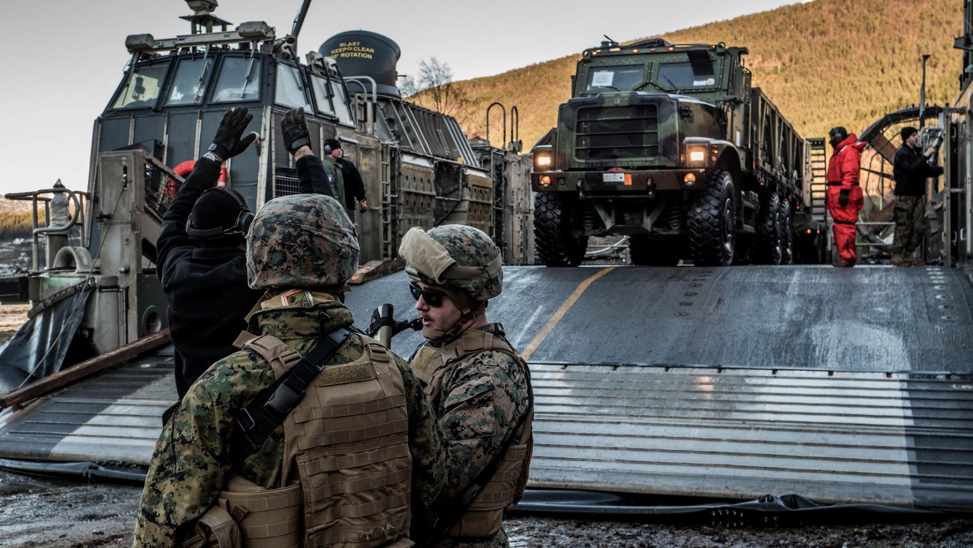 Учения НАТО в Норвегии