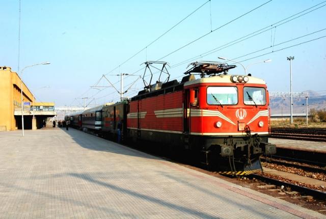Локомотив RC4 иранских железных дорог