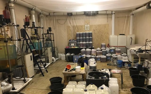 В Калужской области уничтожили лабораторию по производству наркотиков