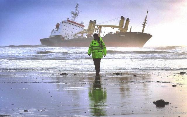 В Дагестане спасли иранское судно, севшее на мель