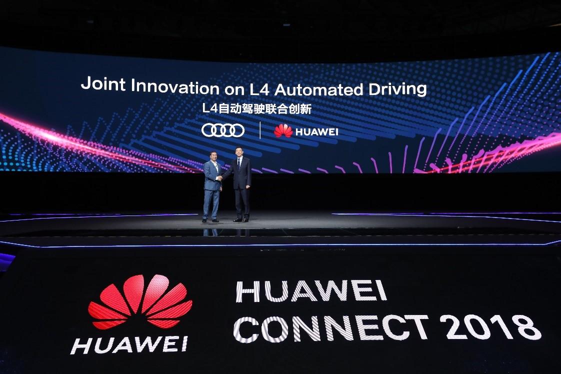 Huawei и Audi будут вместе разрабатывать решения для беспилотных автомобилей