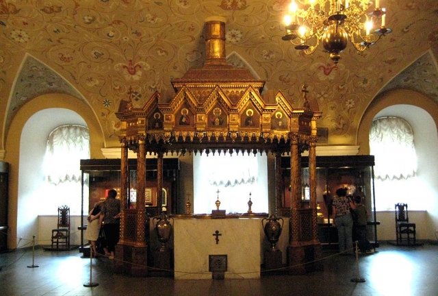 Печь для варки мира (Патриарший дворец, Музеи московского Кремля)